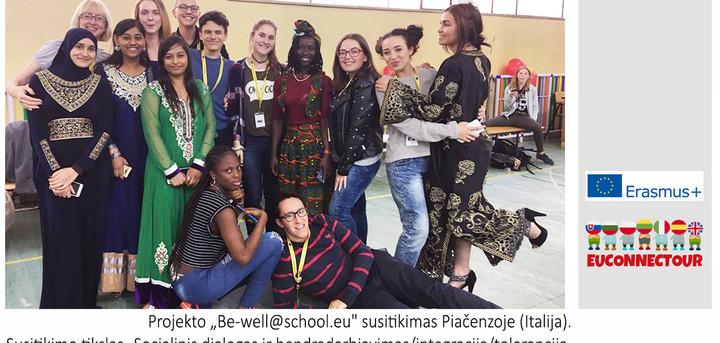Erasmus 'Be-well@school