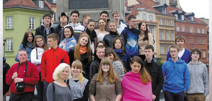 Students' juorney to Poland