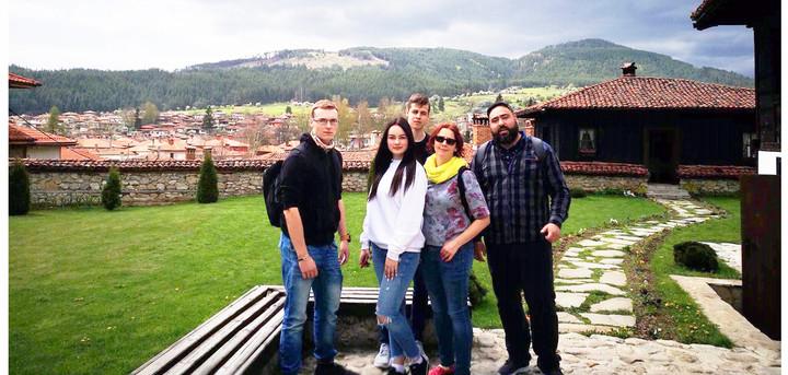 Erasmus 'Euconnectour' in Bulgaria