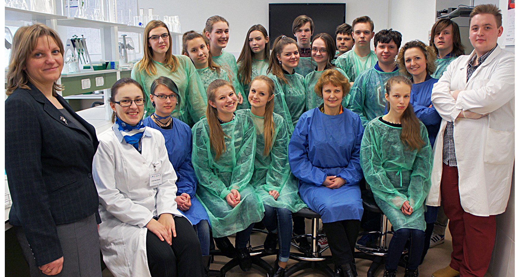 Students in a project New Science Talents