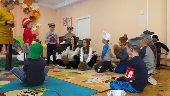 Activities in kindergarten 'Bite'_performance