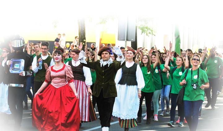 'Sauletekis' in Town celebration