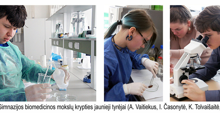 Young researchers in the field of biomed