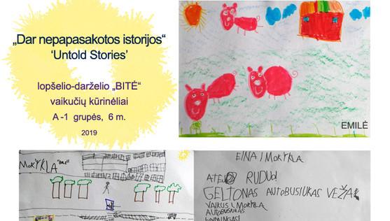 Activities in kindergarten 'Bite'_artworks