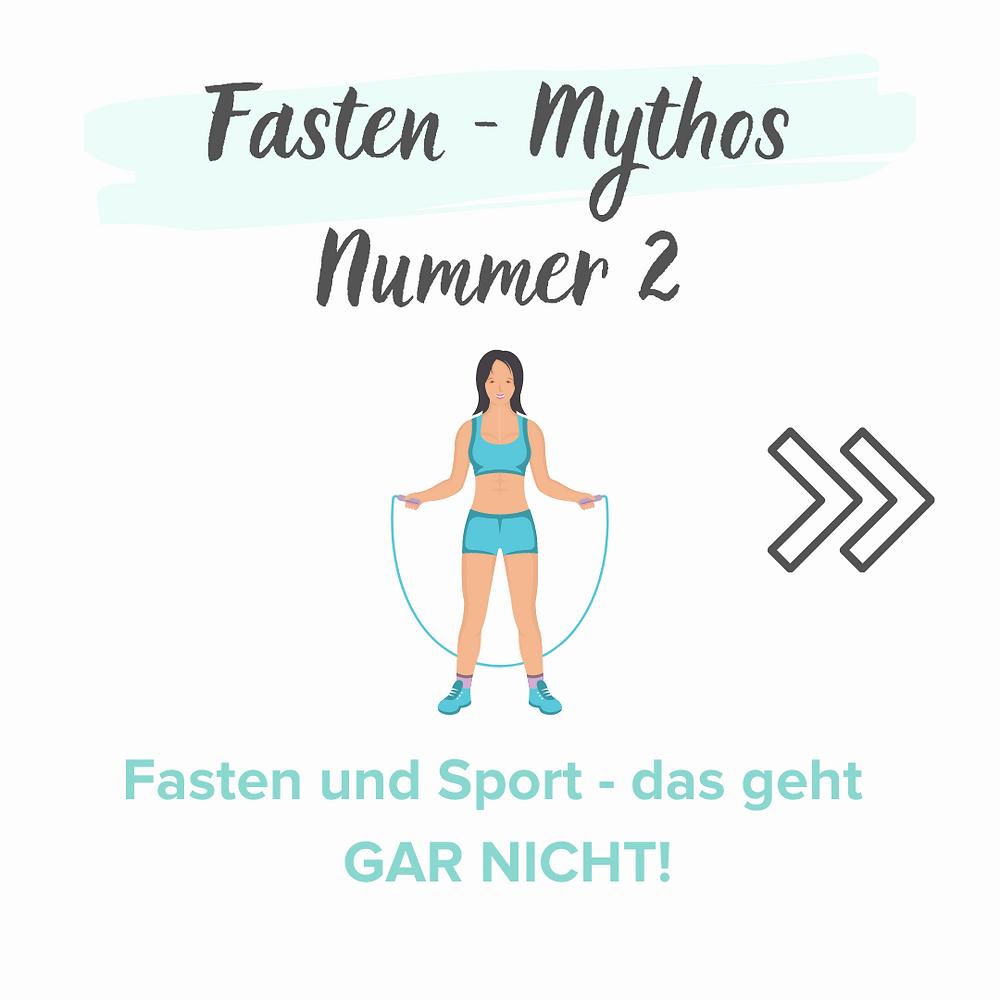 Ein weiterer Mythos ist, dass man beim Fasten nicht auch noch Sport treiben kann. Man kann, man darf und man sollte sich beim Heilfasten bewegen. Es unterstützt die Fasten-Prozesse- und Wirkungen enorm.