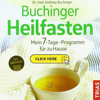 Wir fasten nach dem Buchinger-Konzept, deshalb empfehle ich dieses Buch.