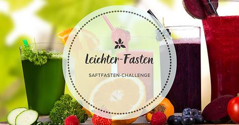 Am 11.06.2021 startet die kostenfreie Saftfastenchallenge von Leichter-Fasten.de. 7 Tage - viele bunte Vitamine, Energie und Spaß