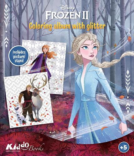 9072  Frozen II-With glitter
