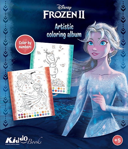 9080  Frozen II-Color by numbers