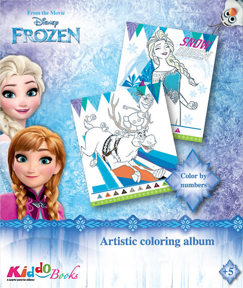 9062  Frozen-Color by numbers