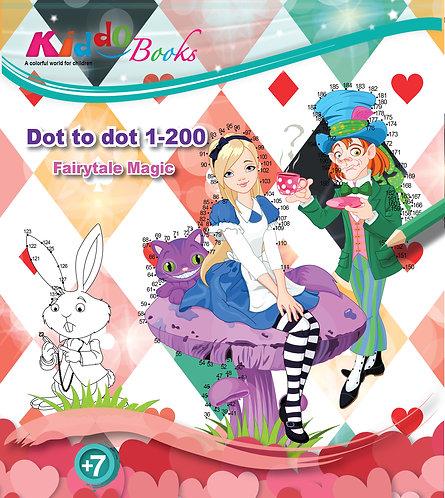 5002  Fairytale Magic-Dot to dot 1-200