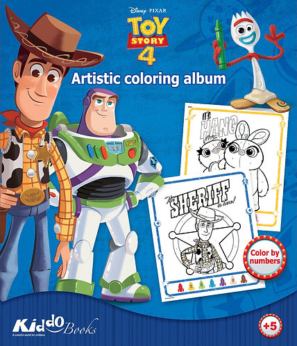 9063  Toy Story 4-Color by numbers