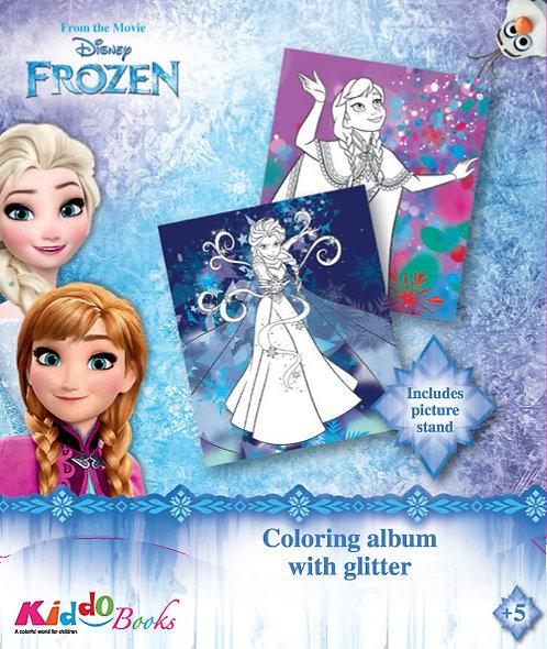 9052  Frozen-With glitter