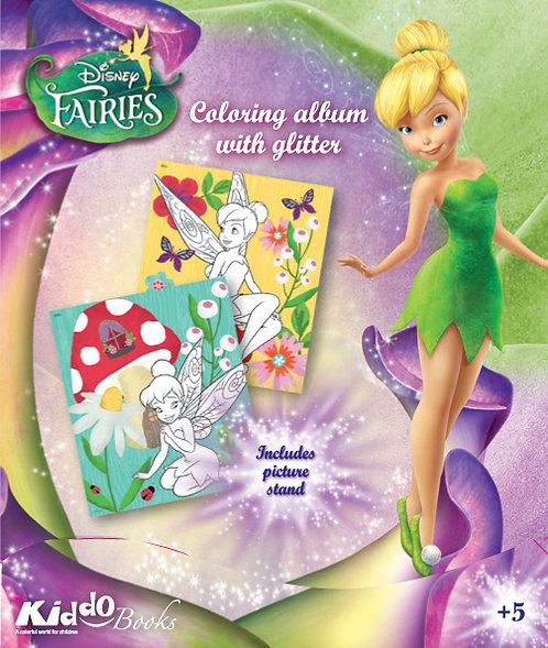 9053  Disney Fairies-With Glitter