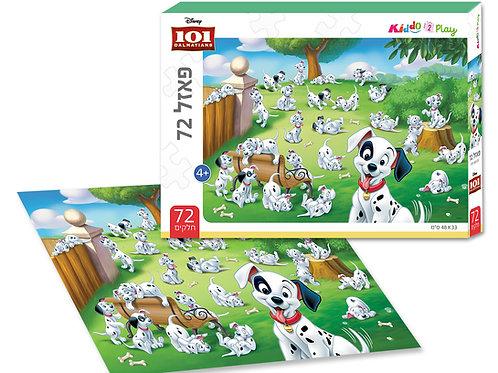 13202 101 Dalmatians - Puzzle - 72 pieces - 48*33 cm