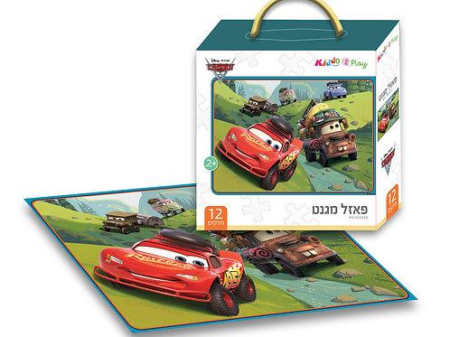 12003 Cars - Magnetic Puzzle - 12 pieces - 33*23.5 cm