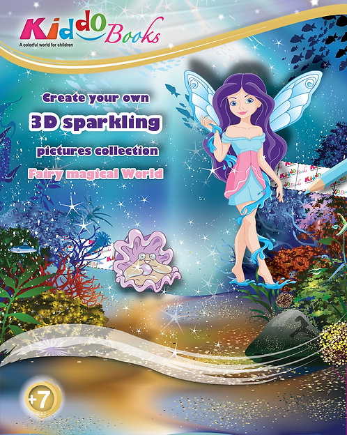 6002  Fairy magical World-3D Sparkling Pictures