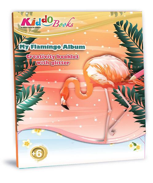 6017  My Flamingo Album-With glitter