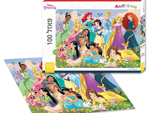13101 Princess - Puzzle - 100 pieces - 48*33 cm