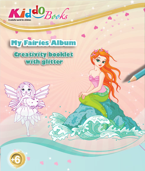 6011  My Fairies Albums-With glitter