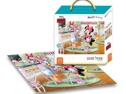 12101 Minnie - Magnetic Puzzle - 24 pieces - 33*23.5 cm