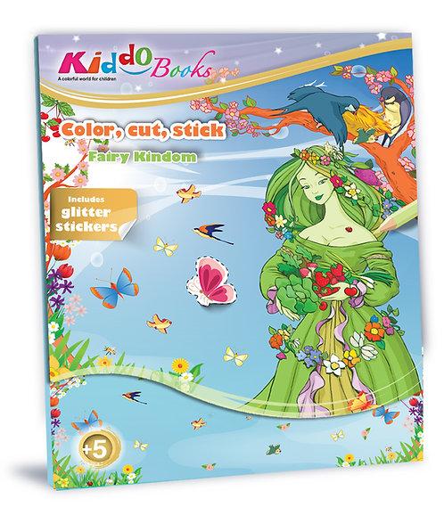 6006  Fairy Kingdom-With glitter stickers