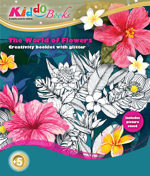 6019  The World of Flowers-With glitter
