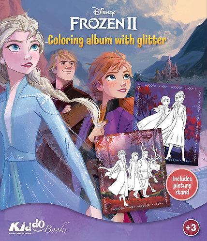 9073  Frozen II-With glitter