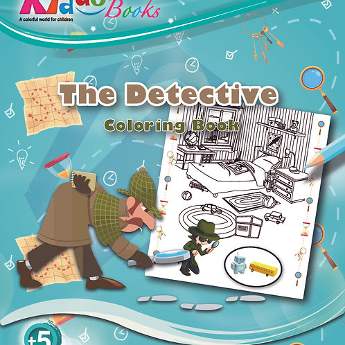 5061 Coloring Book – The Detective