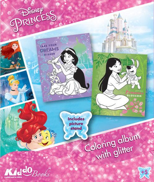 9054  Disney Princess-With glitter