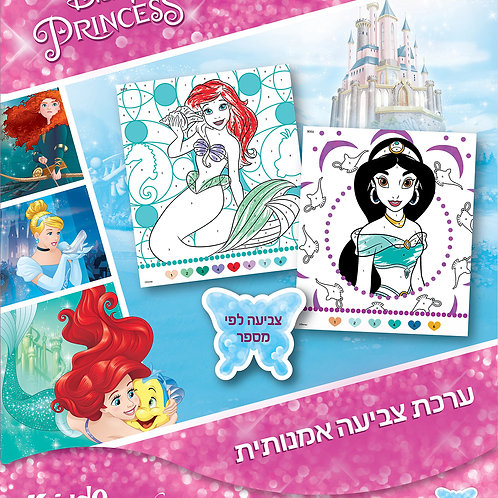 9059  Disney Princess-Color by numbers