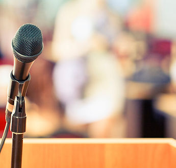 Italian interpreter for conferences and events