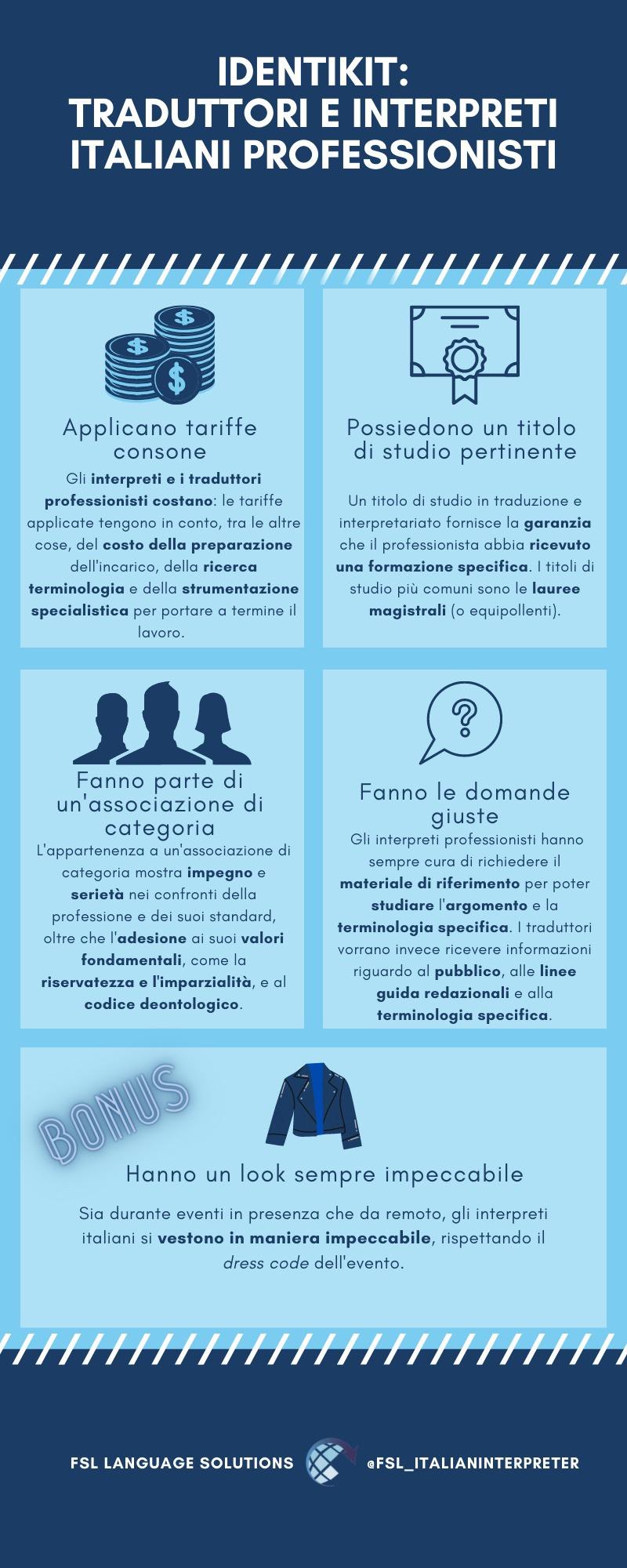 Come riconoscere un traduttore e interprete italiano professionista