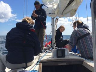 3. ryhmän viimeinen purjehduspäivä