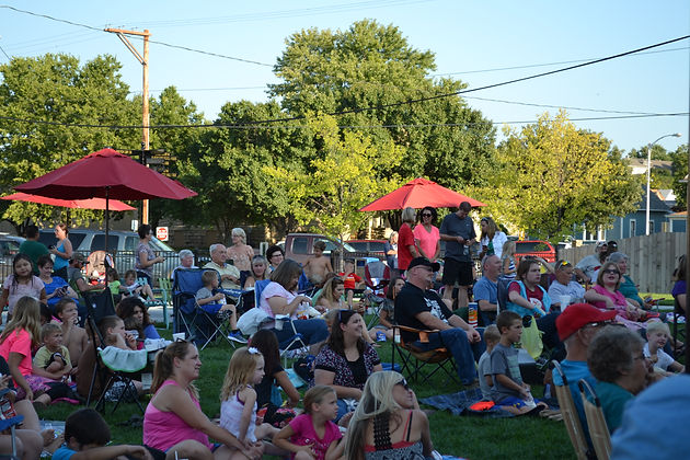 Movie and Concert Series at the Broadway Plaza