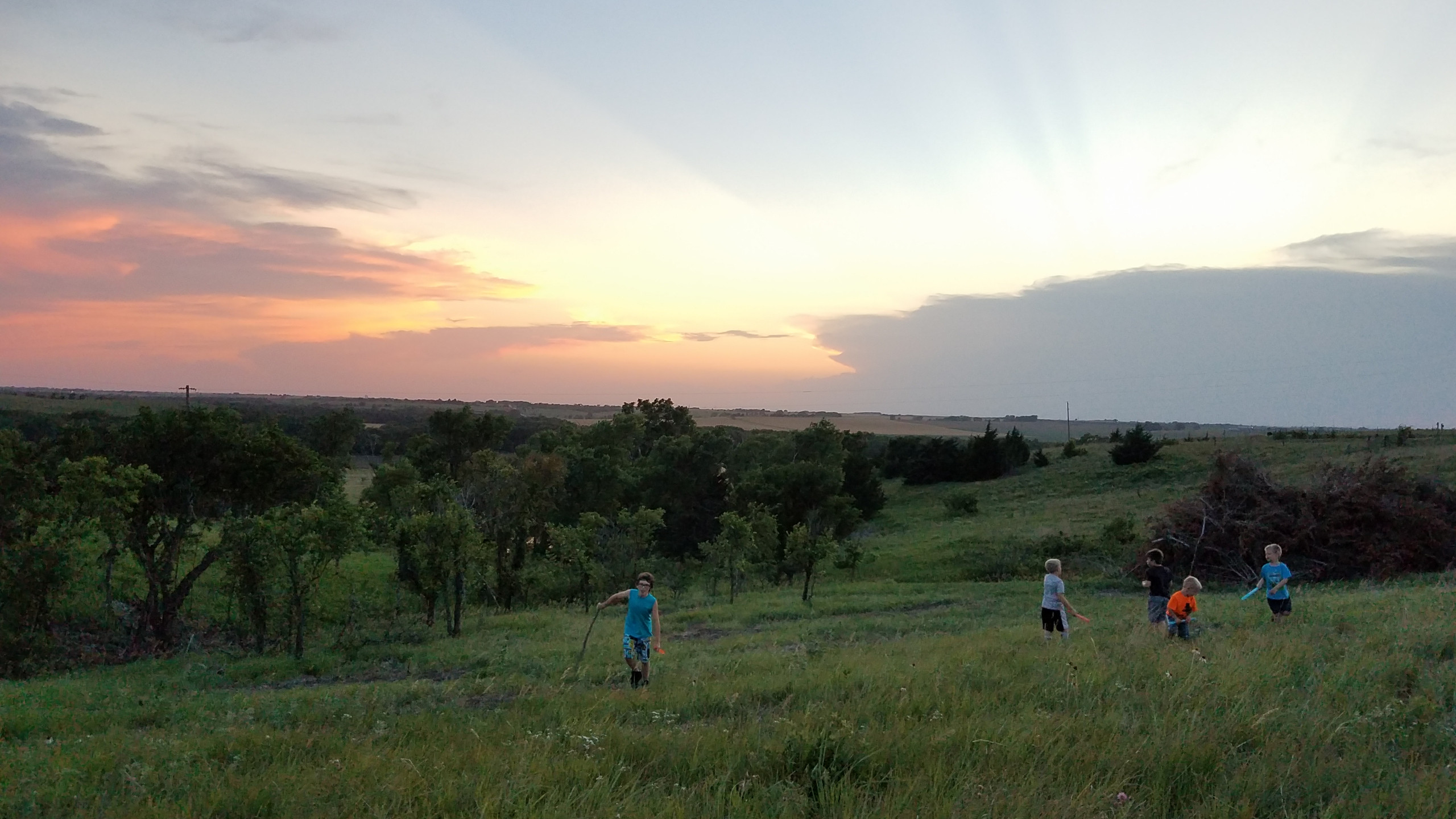 Sunset View on Oil Well Hill