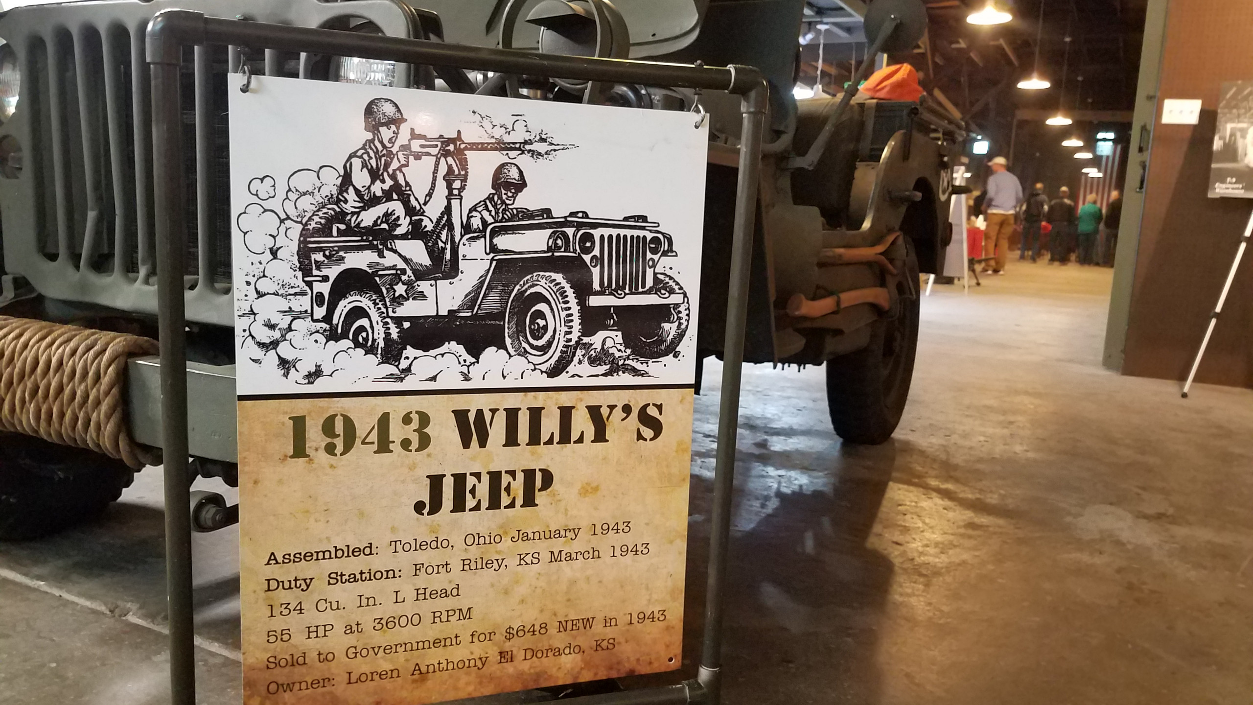 1943 Willy's Jeep