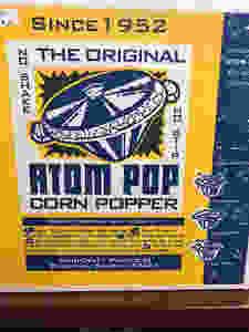 The Original Atom Pop Corn Popper made in Bushton, KS