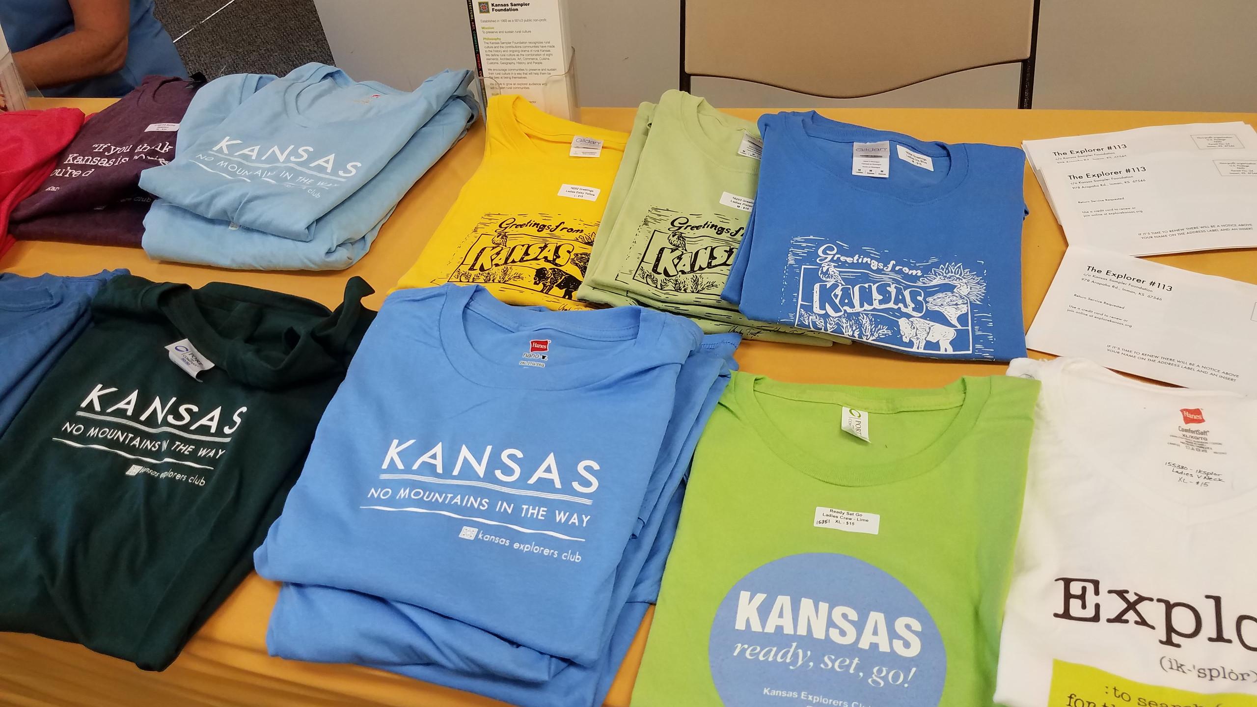 Kansas Explorers Club T-Shirts