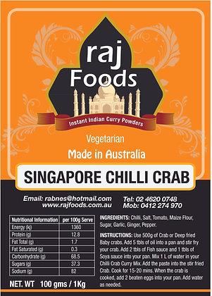 Singapore Chilli Crab Curry