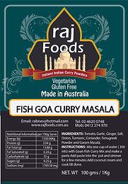 Fish Goa Curry Masala