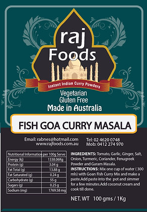 Fish Goa Curry Masala