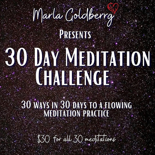 30 Ways In 30 Days  To A Flowing  Meditation Practice
