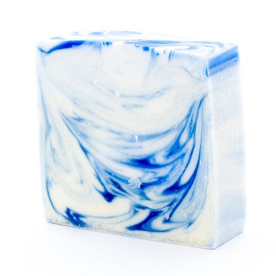 WEDDING FAVOUR SOAP BAR - BLUE
