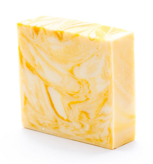 WEDDING FAVOUR SOAP BAR - YELLOW