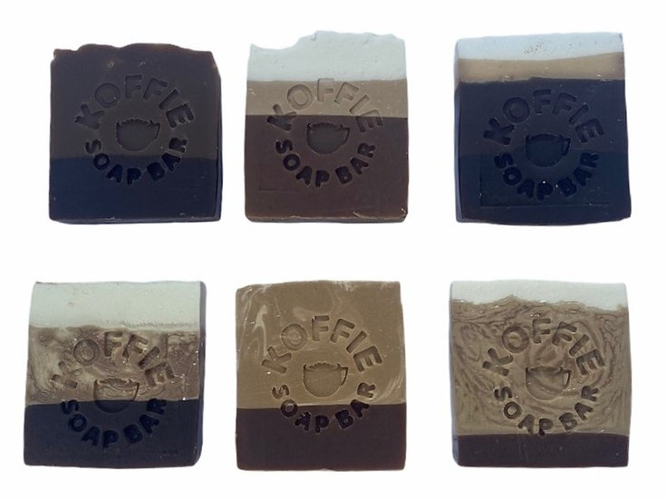KOFFIE ART SOAP BARS