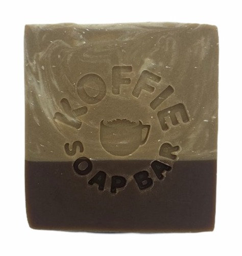 KOFFIE ART SOAP BAR - FLAT WHITE