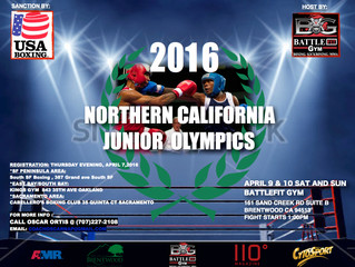 2016 USA BOXING JUNIOR OLYMPICS