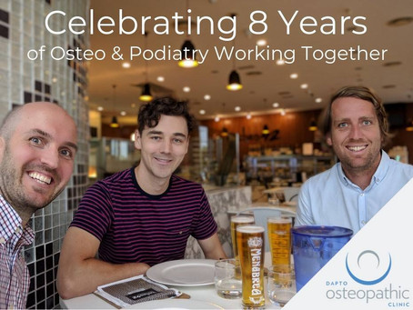 Osteo and Podiatry - 8 Years Strong