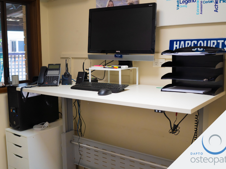 Sit/Stand Desks and Moving Around at Your Workstation